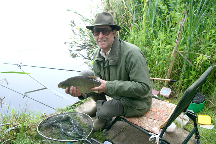 Wallington Hall, Lake 3 - a nice bream caught by Peter Scragg